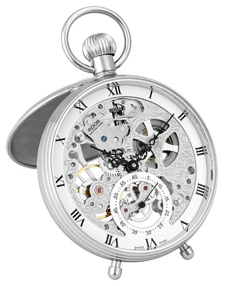 エポス ポケットウォッチ 2166R メンズ 懐中時計 エポス epos スケルトン 敬老の日 ギフト お祝い 還暦 喜寿 米寿