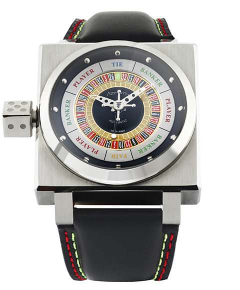 アウトレット 半額 アジムート キングカジノ KING CASINO-SS 腕時計 メンズ SP-1 MECANIQUE AZIMUTH 自動巻