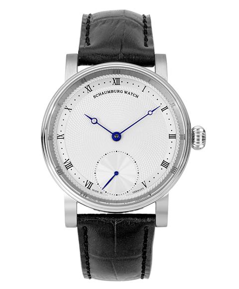 シャウボーグ ウニカトリウム クラシック ハンドメイド UNIKATORIUM-CLASSIC HANDMADE 腕時計 メンズ SCHAUMBURG レザーストラップ