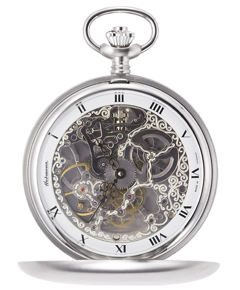 gosh ハッフマン watch 31907croh rolling by hand chrome skeleton rm