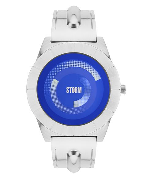 ストーム ロンドン DYNAMIX 47328LB 腕時計 メンズ STORM LONDON メタルブレス ブルー系