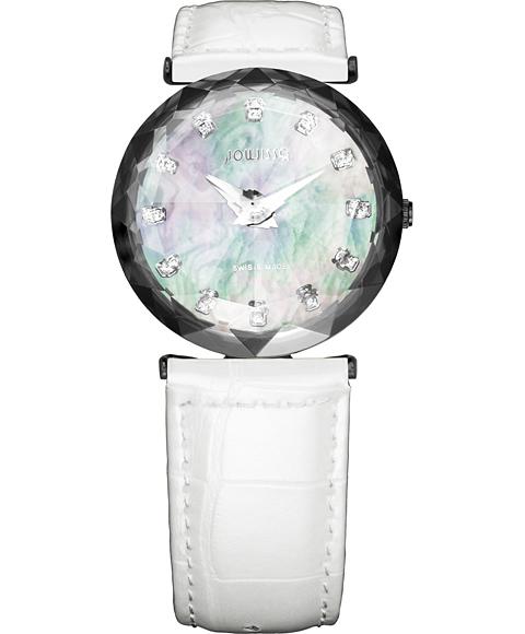 アウトレット 半額 ジョウィサ J1シリーズ サファイア 1.203.M 腕時計 レディース JOWISSA Magic Sapphire レザーストラップ