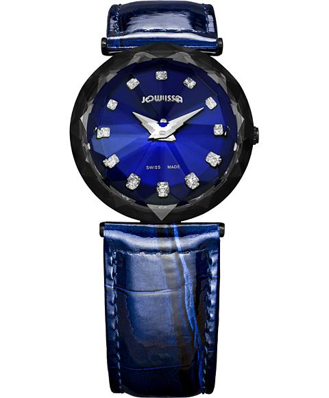 アウトレット 半額 ジョウィサ J1シリーズ サファイア 1.257.M 腕時計 レディース JOWISSA Magic Sapphire レディースウォッチ ジョイッサ ジョイサ レザーストラップ ブルー系