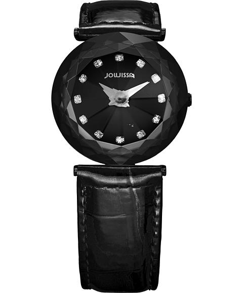 アウトレット 半額 ジョウィサ J1シリーズ サファイア 1.253.M 腕時計 レディース JOWISSA Magic Sapphire クロノグラフ レザーストラップ