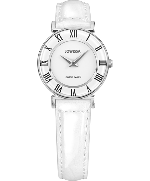 ジョウィサ J2シリーズ ローマ 2.001.S 腕時計 レディース JOWISSA roma レザーストラップ ホワイト系