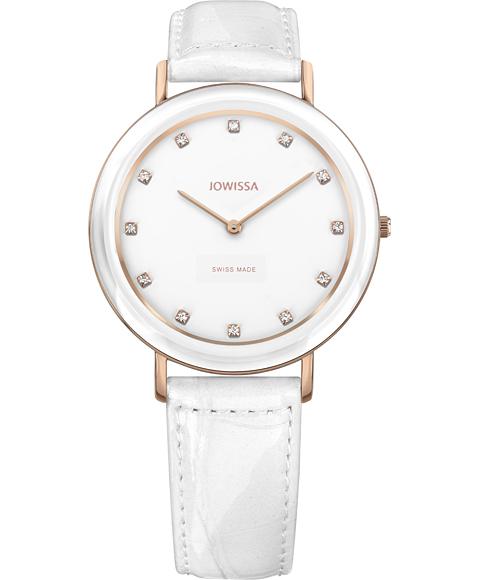 ジョウィサ J4シリーズ アルト 4.319.M 腕時計 レディース JOWISSA Alto ゴールド レザーストラップ ホワイト系