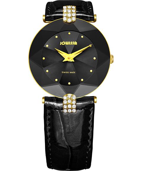 ジョウィサ J5シリーズ 5.007.M 腕時計 レディース JOWISSA ゴールド レザーストラップ