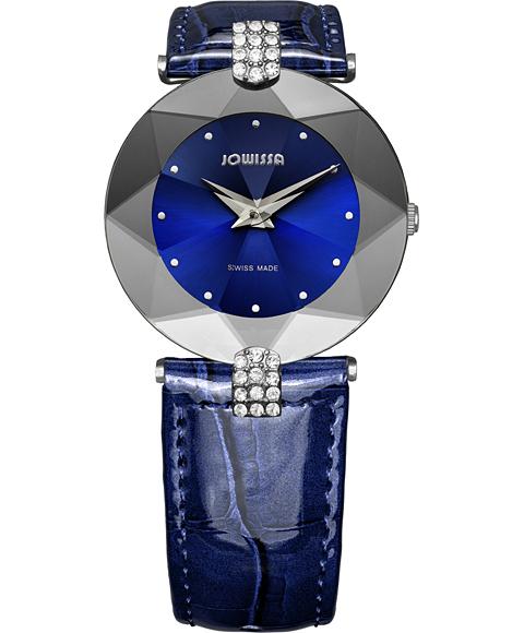 ジョウィサ J5シリーズ 5.310.M 腕時計 レディース JOWISSA レザーストラップ ブルー系