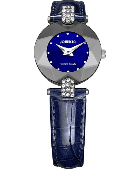 ジョウィサ J5シリーズ 5.310.S 腕時計 レディース JOWISSA レザーストラップ ブルー系