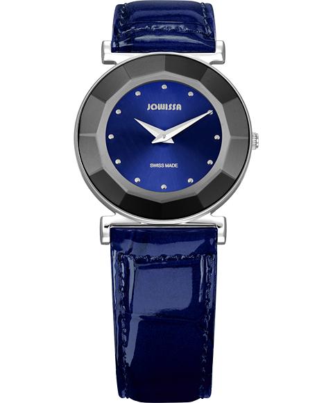 ジョウィサ J5シリーズ ミラ 5.522.M 腕時計 レディース JOWISSA Mira レザーストラップ ブルー系