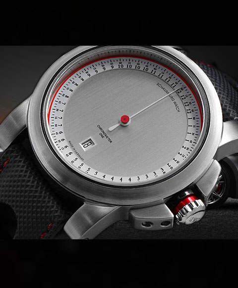 シャウボーグ グノモニク GT ONE-1 腕時計 メンズ SCHAUMBURG GNOMONIK GTワン1 自動巻 レザーストラップ