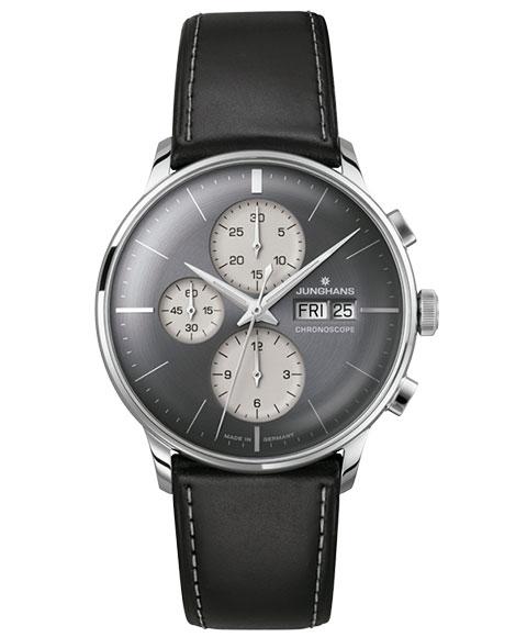 特価品 ユンハンス マイスター クロノスコープ 027 4525 01 腕時計 自動巻き メンズ JUNGHANS Meister Chronoscope 027/4525.01