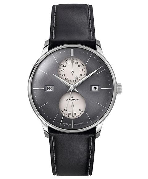 ユンハンス マイスター アジェンダ 027 4567 01 英語表記 腕時計 自動巻き メンズ JUNGHANS Meister Agenda 027/4567.01 メタルブレス