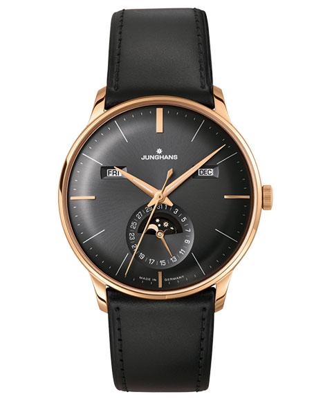 特価品 ユンハンス マイスター カレンダー 027 7504 01 (英語表記) 腕時計 自動巻き メンズ JUNGHANS Meister Kalender 027/7504.01 ゴールド