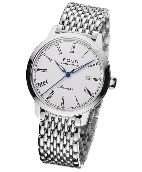 エポス オリジナーレ デイト 3432RWHM 腕時計 メンズ 自動巻 epos メタルブレス