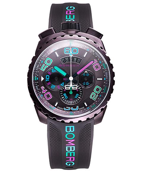 アウトレット ボンバーグ BOLT-68 クロマ アイスブラウン BS45CHPBR.049-3.3 クォーツ クロノグラフ 腕時計 メンズ BOMBERG CHROMA BROWN ICE ブラウン系