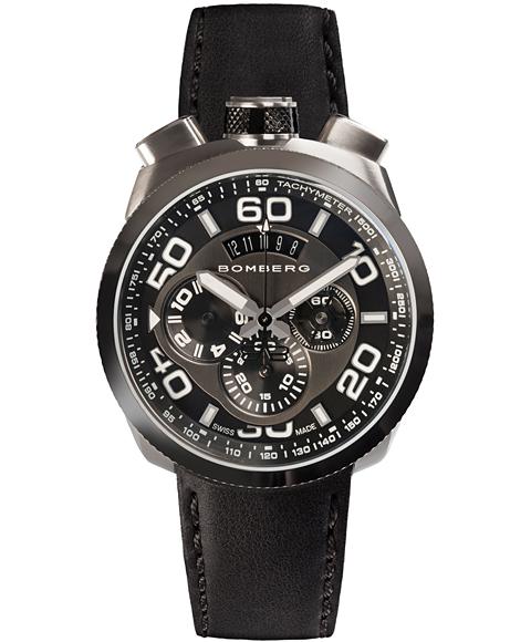 アウトレット ボンバーグ BOLT-68 BS45CHPBA.012.3 クォーツ クロノグラフ 腕時計 メンズ BOMBERG
