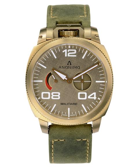 アウトレット 62%OFF! アノーニモ ミリターレアルピニPRI 1010.04.003.A01 腕時計 メンズ ANONIMO MILITARE ALPINI PRI LIMITED EDITION ゴールド