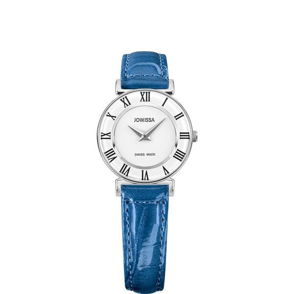 ジョウィサ J2シリーズ ローマ カラー 2.011.S 腕時計 レディース JOWISSA Roma Colori レザーストラップ ブルー系