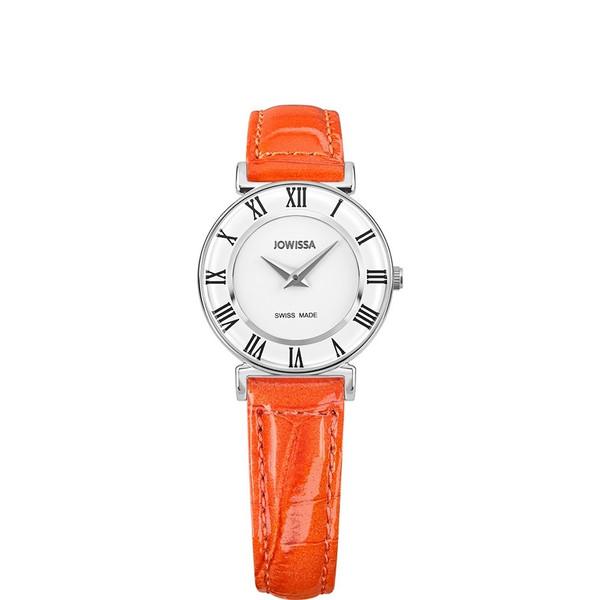 ジョウィサ J2シリーズ ローマ カラー 2.109.S 腕時計 レディース JOWISSA Roma Colori レザーストラップ オレンジ系