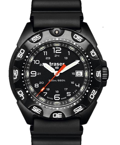 トレーサー TRASER 腕時計 9031567 本店 ブラック系 ミリタリーウォッチ 購買 メンズ