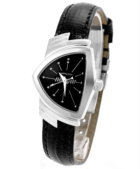 ハミルトン HAMILTON H24211732 ベンチュラ レディース 腕時計 VENTURA LADY VENTURE クロノグラフ レザーストラップ