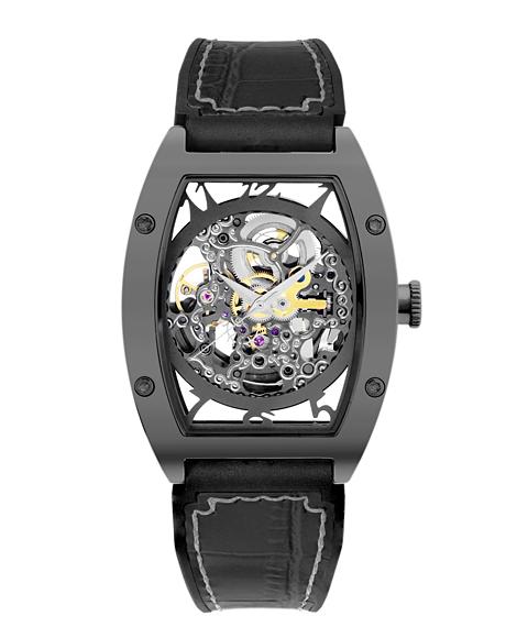 アルカフトゥーラ 978GBK メカニカルスケルトン トノー 自動巻き 腕時計 メンズ ARCAFUTURA