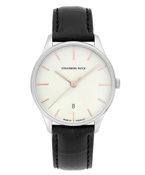 シャウボーグ クラソコ CLASSOCO-WH 腕時計 メンズ 自動巻 SCHAUMBURG クラシコ クラシック レザーストラップ