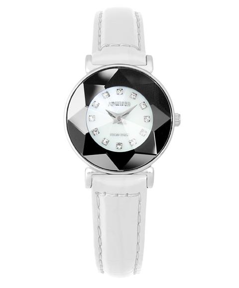 ジョウィサ 5.592.S 腕時計 レディース JOWISSA レザーストラップ ホワイト系