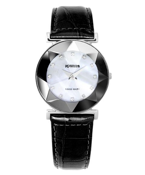 ジョウィサ 5.593.M 腕時計 レディース JOWISSA レザーストラップ