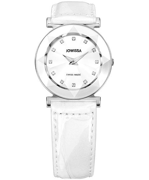 ジョウィサ 5.467.M 腕時計 レディース JOWISSA レザーストラップ ホワイト系