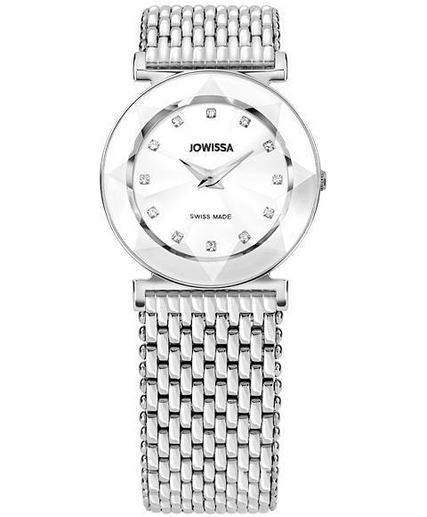 ジョウィサ 5.468.M 腕時計 レディース JOWISSA レザーストラップ メタルブレス