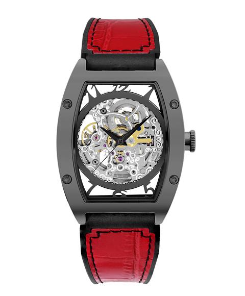 アルカフトゥーラ 978IRD メカニカルスケルトン トノー 自動巻き 腕時計 メンズ ARCAFUTURA