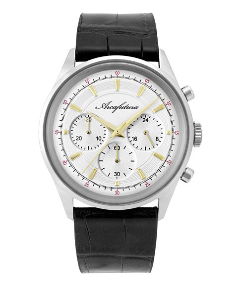 アルカフトゥーラ B0942-01BK 腕時計 メンズ ARCAFUTURA レザーストラップ