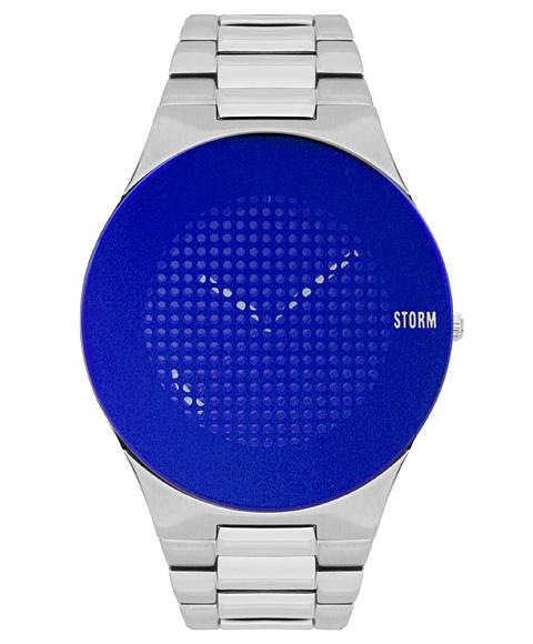 ストーム ロンドン 47388B TRIONIC-X 腕時計 メンズ STORM LONDON メタルブレス ブルー系