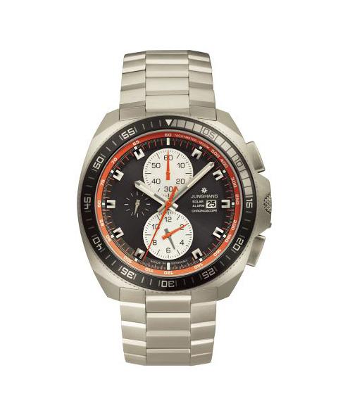 ユンハンス 1972 クロノスコープソーラー 014 4202 44 腕時計 メンズ JUNGHANS 1972 CHRONOSCOPE SOLAR 014/4202.44 ダイバーズ クロノグラフ メタルブレス