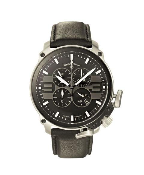 アウトレット ユンハンス エアハルト クロノスコープ 028 4104 00 自動巻き クロノグラフ 腕時計 メンズ JUNGHANS AERIOUS CHRONOSCOPE 028/4104.00 レザーストラップ