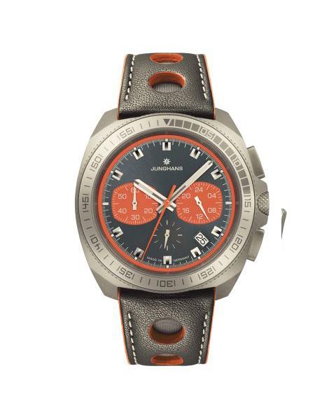 ユンハンス 1972 クロノスコープクオーツ 041 4260 00 腕時計 メンズ JUNGHANS 1972 CHRONOSCOPE QUARZ 041/4260.00 ダイバーズ クロノグラフ レザーストラップ