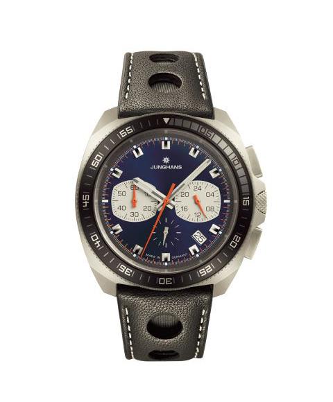 ユンハンス 1972 クロノスコープクオーツ 041 4261 00 腕時計 メンズ JUNGHANS 1972 CHRONOSCOPE QUARZ 041/4261.00 ダイバーズ クロノグラフ レザーストラップ