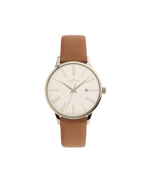 特価品 ユンハンス マイスターレディース 047 4566 00 クォーツ 腕時計 レディース JUNGHANS Meister Ladies 047/4566.00 レザーストラップ
