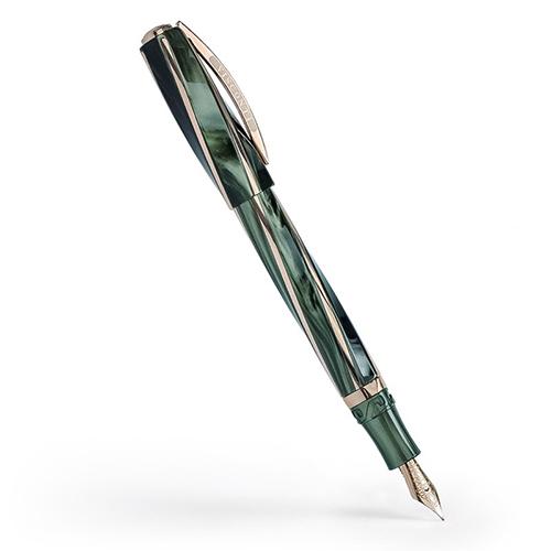 ヴィスコンティ ディヴィーナ エレガンス オーバーサイズ グリーン V26306PDA55DR (FP/MP) 万年筆 VISCONTI Divina Elegance Over Size Green 時計取り扱い