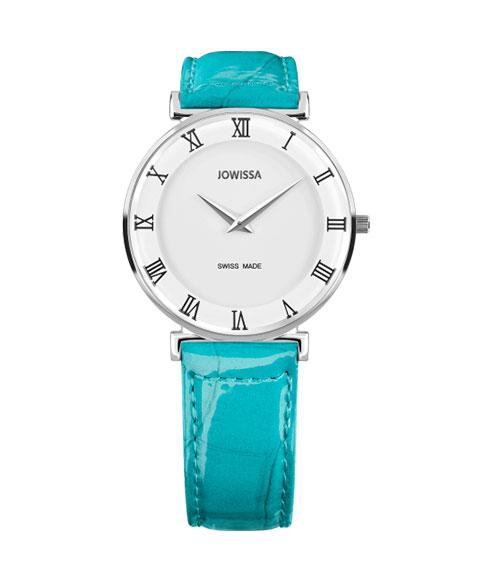 ジョウィサ ローマ 2.224.L 腕時計 レディース クオーツ JOWISSA Roma レザーストラップ ブルー系