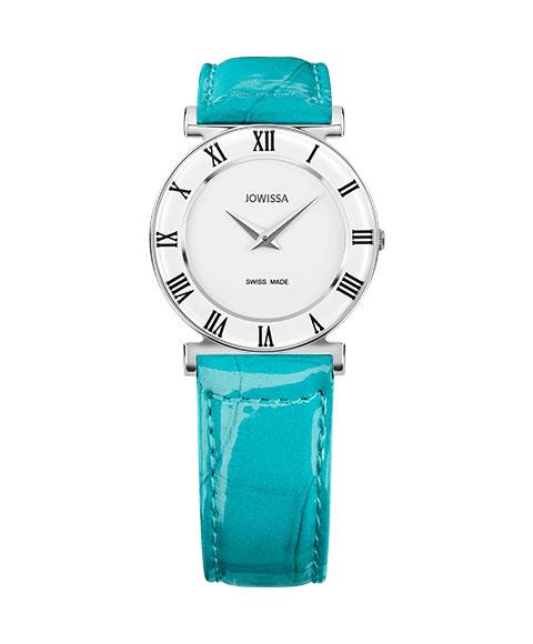 ジョウィサ ローマ 2.224.M 腕時計 レディース クオーツ JOWISSA Roma レザーストラップ ブルー系