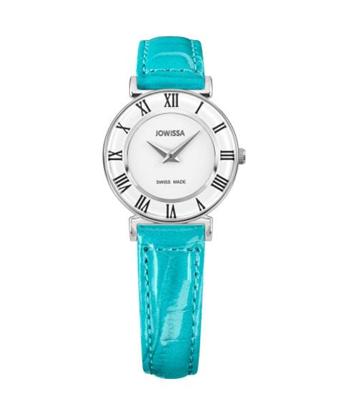 ジョウィサ ローマ 2.224.S 腕時計 レディース クオーツ JOWISSA Roma レザーストラップ ブルー系