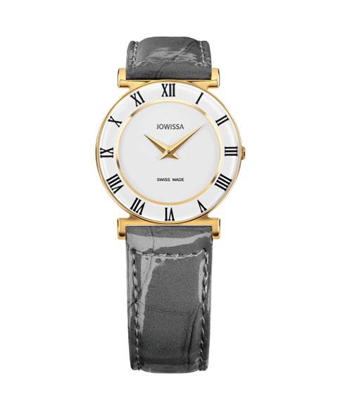 ジョウィサ ローマ 2.225.M 腕時計 レディース クオーツ JOWISSA Roma クロノグラフ ゴールド レザーストラップ