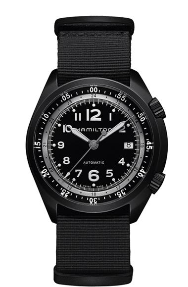 ハミルトン Hamilton 腕時計 H80485835 カーキ アビエーション パイロット パイオニア 自動巻