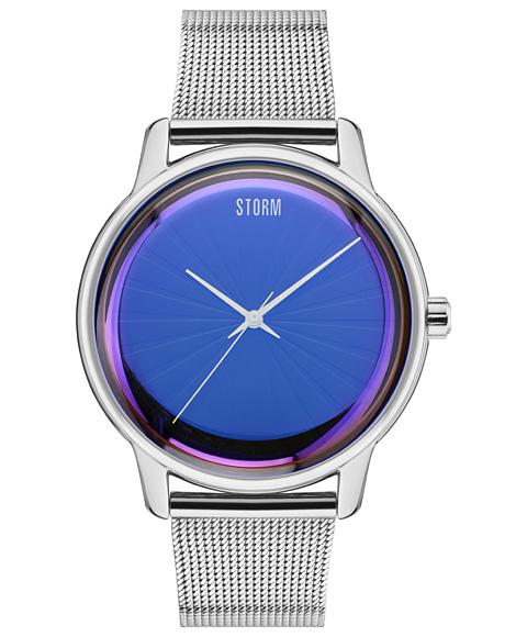 ストーム ロンドン 47403LB SOLAREX 腕時計 メンズ STORM LONDON クロノグラフ メタルブレス ブルー系