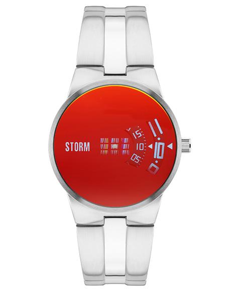 ストーム ロンドン NEW REMI LAZER RED 47210R 腕時計 メンズ STORM LONDON メタルブレス レッド系