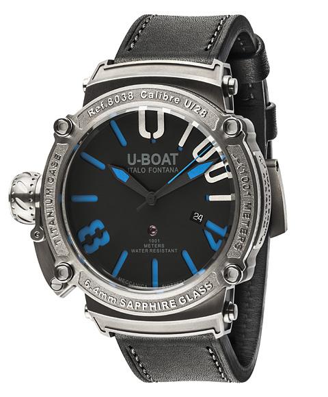アウトレット 55%OFF ユーボート クラシコ 47 1001 SS BLU 8038 腕時計 メンズ U-BOAT CLASSICO 47 1001 SS BLU 自動巻 限定モデル レザーストラップ