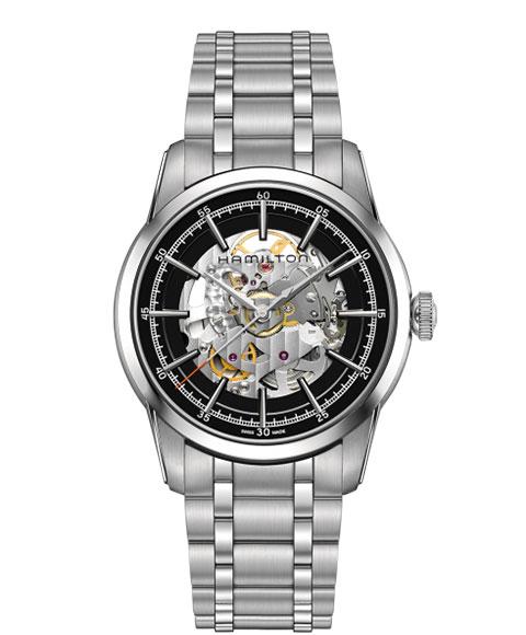 ハミルトン アメリカンクラシック レイルロード H40655131 腕時計 メンズ HAMILTON AMERICAN CLASSIC RAILROAD 自動巻 メタルブレス
